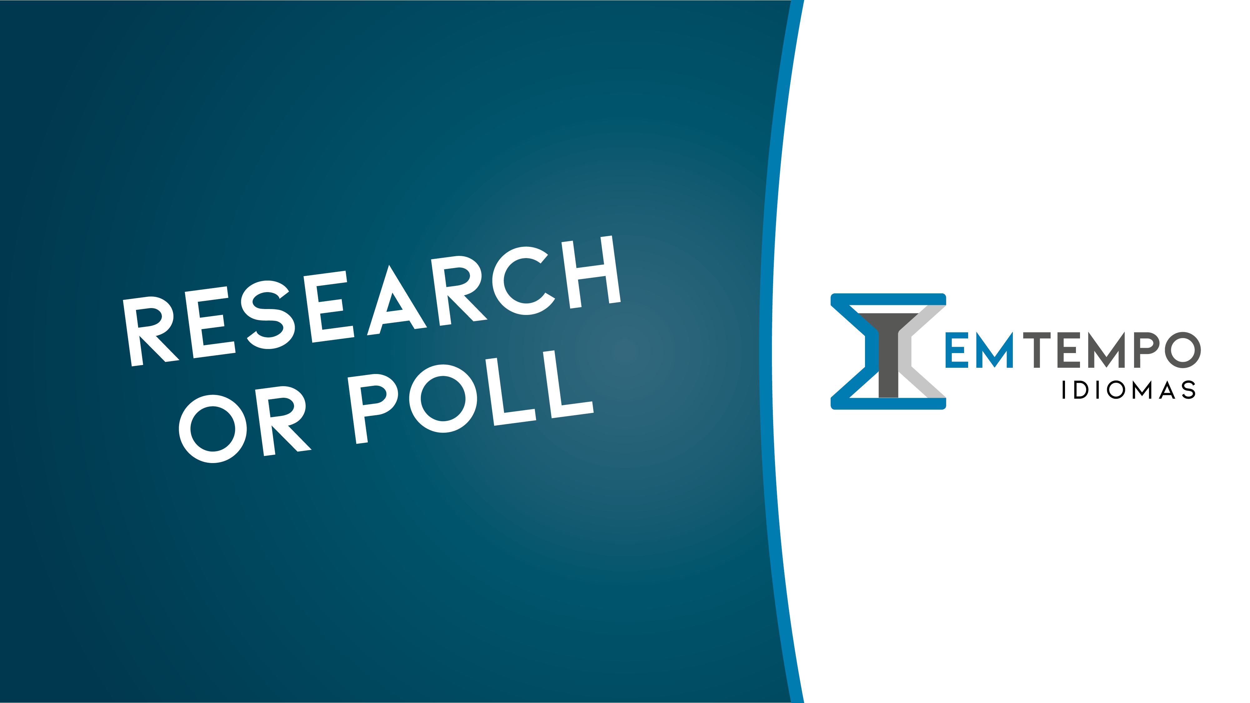Research or poll